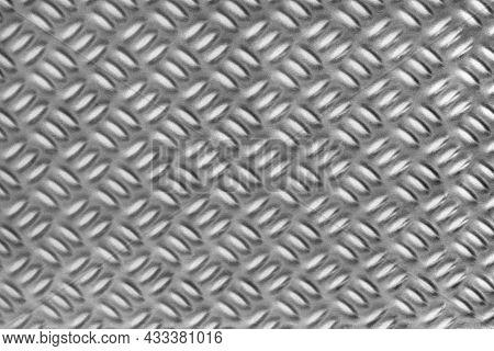 Full Frame Abstract Metallic Diamond Plate Pattern