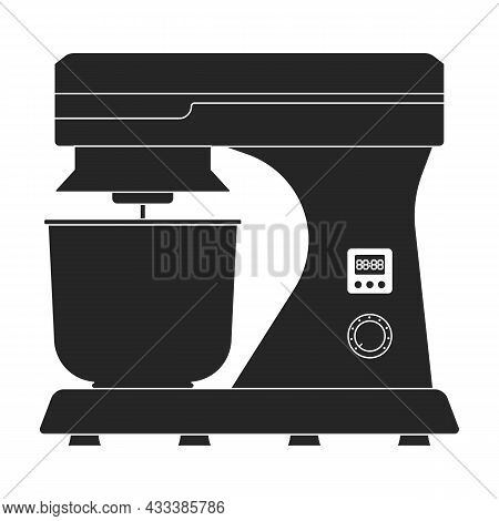 Mixer Vector Icon.black Vector Icon Isolated On White Background Mixer.