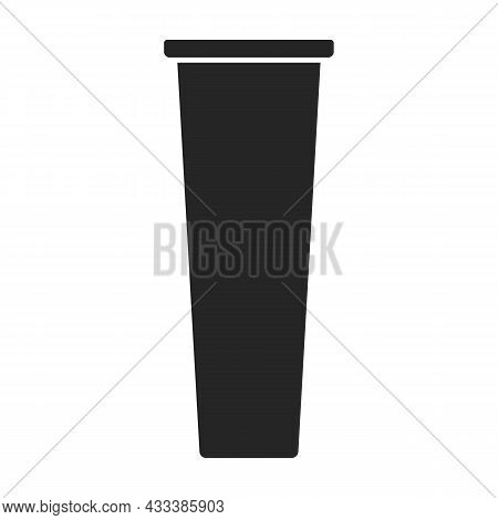 Detail Meat Grinder Vector Icon.black Vector Icon Isolated On White Background Detail Meat Grinder.