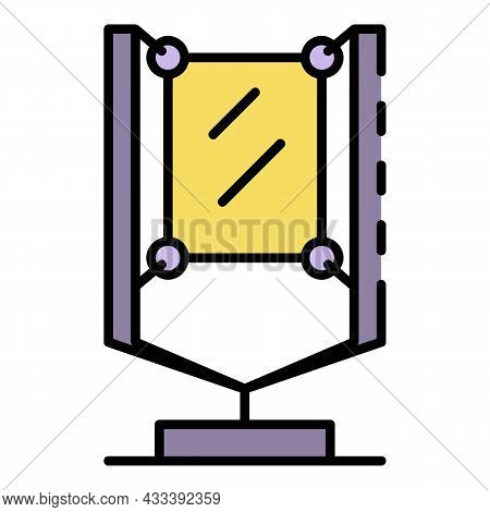 Urban Lightbox Icon. Outline Urban Lightbox Vector Icon Color Flat Isolated
