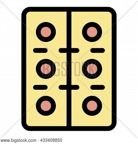 Antibiotics Pills Icon. Outline Antibiotics Pills Vector Icon Color Flat Isolated
