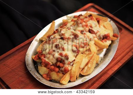 Chilli Covered Fries