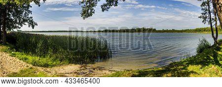 A Chorne Velyke Lake Of Shatskyi Lakes Group, Volyn Region Of Ukraine