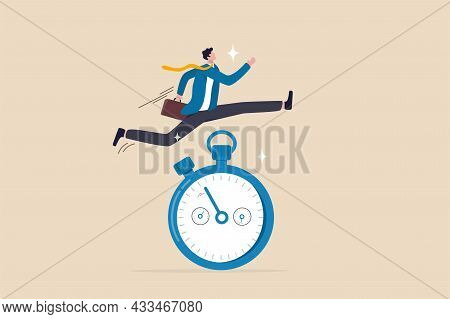 Sense Of Urgency, Quick Response Attitude To Get Work Done As Soon As Possible Now, Reaction To Prio