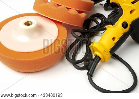 Electric Handy Tool For Polishing Car Body And Polishing Wheels