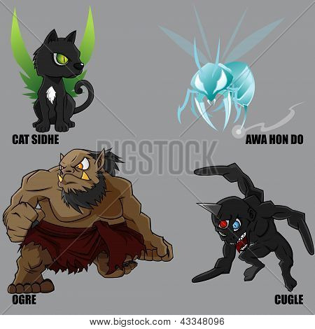 Mythical Creatures Set 20