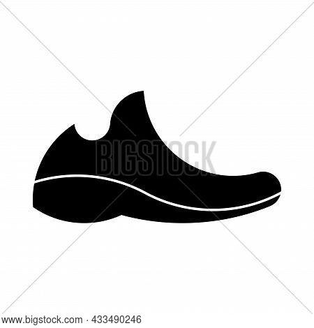 Vector Sneaker In Golden Ratio Style. Editable Illustration