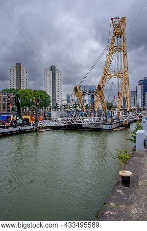 15 September 2021, Rotterdam Maritime Museum, South Holland, Rotterdam, Netherlands. The Harbor-muse