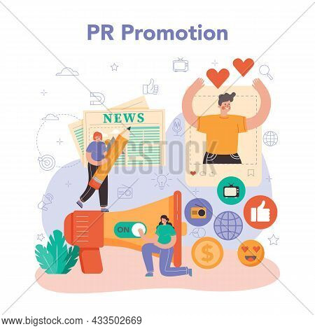 Public Relations Manager. Specialist Developing Commercial Brand