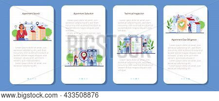 Real Estate Agent Concept Set. Qualified Realtor Searching For The Best