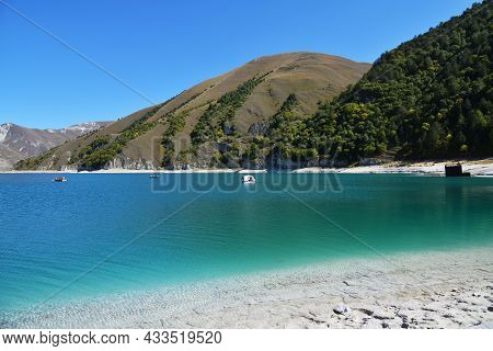Kazenoy Am. Highland Lake On The Southern Slope Of The Andean Mountains At An Altitude Of 1869 Metre