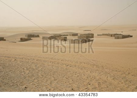 Foreign legion outpost, Mali,Africa