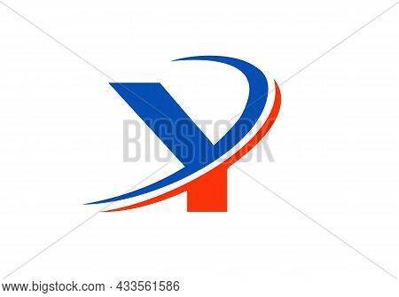 Y Letter Logo Business Template. Initial Y Logo Design For Real Estate, Financial, Marketing, Manage