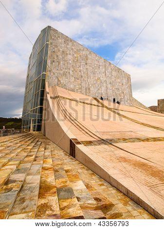 Santiago De Composttela, Spain - November 13: City Of Culture Building On November 13, 2011 In Santi