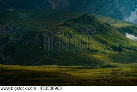 Photography Of The Mountain Oshten. Dramatic View