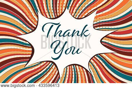 Boom Or Pop Art Speech Bubble With -thank You- Text. Concept Of Gratitude And Appreciation. Wallpape