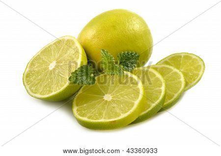 Fresh Lime With Lemon Mint