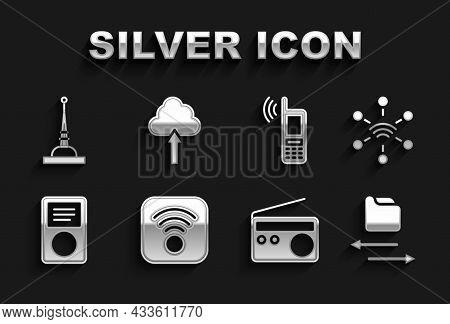 Set Wi-fi Wireless Internet, Network, Transfer Files, Radio, Music Player, Mobile With Wi-fi, Antenn