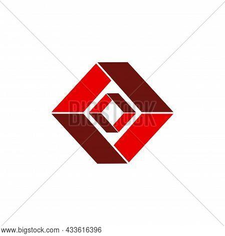 Stylish Letter O Logo Icon Flat Concept Vector Graphic Design