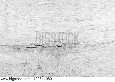 The Softness Of Striped Plywood Texture For Background. The Softness Of The Black And White Backgrou