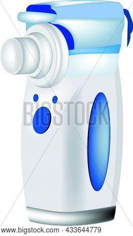 Portable Refill Cartridge Nebulizer For Children Steam, Compressor, Child, Care, Person, Treatment,