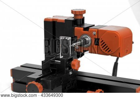 Small diy milling machine for education and hobby