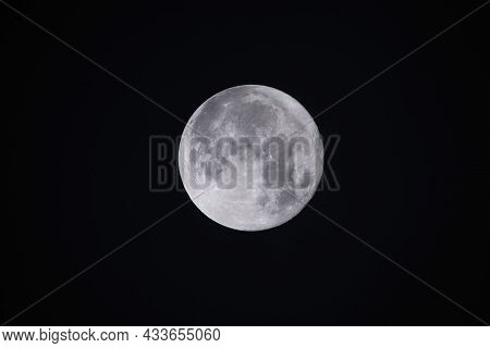 The Fullmoon On September21,2021 In Japan. We Have A Custom To View The Moon On August 15th On The L