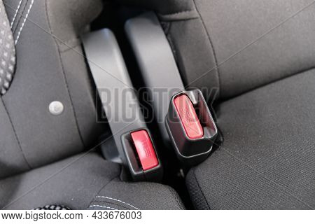 Car Safety Belt Fasteners, Buckles For Rear Passengers, Setbelts For Safety Passengers
