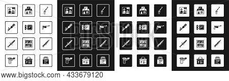 Set Revolver Gun, Hunting Shop Weapon, Anti-tank Hand Grenade, Advertising, Mauser, Military Knife A