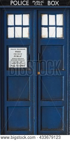 Police Call Box. Tardis From Doctor Who.