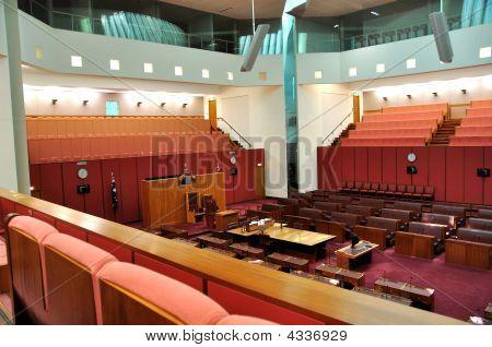 Australian Parliament Senate Chamber