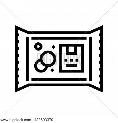 Organic Laundry Soap Line Icon Vector. Organic Laundry Soap Sign. Isolated Contour Symbol Black Illu