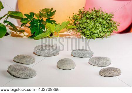 Bright Zen Stones