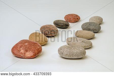 Colorful Zen Stones