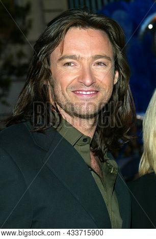 LOS ANGELES - APR 28: Hugh Jackman arrives for the ÔX2: X-Men UnitedÕ Los Angeles Premiere on April 28, 2003 in Hollywood, CA
