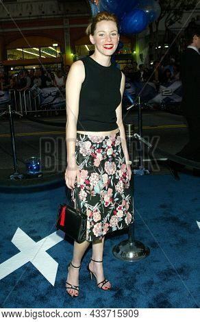 LOS ANGELES - APR 28: Elizabeth Banks arrives for the ÔX2: X-Men UnitedÕ Los Angeles Premiere on April 28, 2003 in Hollywood, CA