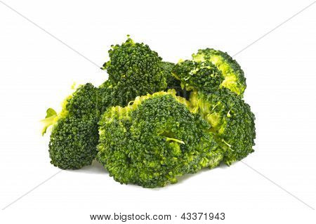 Green Cooked Broccoli