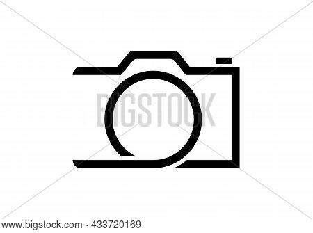 Photography Logo Design. Camera Logo Design Inspiration, Photograph Template