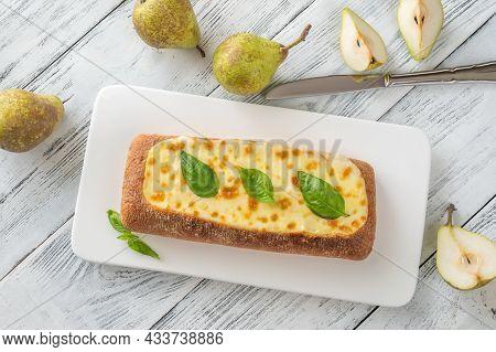 Ciabatta Stuffed With Cheese