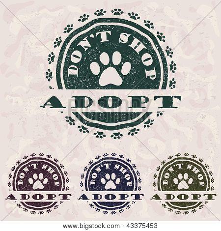 Adopt Don't Shop