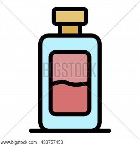 Marine Deodorant Icon. Outline Marine Deodorant Vector Icon Color Flat Isolated