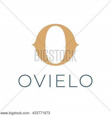 Luxury Style Letter O Vector Logo Design.