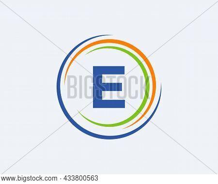 E Letter Logo Design. Modern, Unique Creative E Logo Design. Initial E Letter Business Logo Template