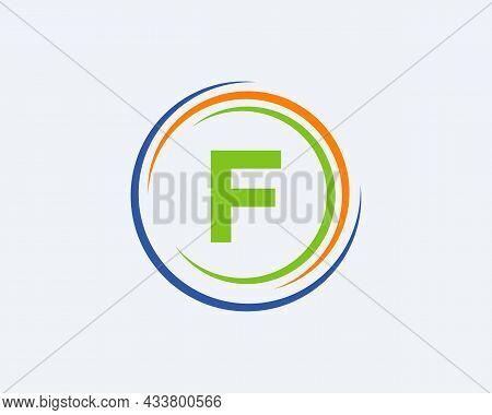 F Letter Logo Design. Modern, Unique Creative F Logo Design. Initial F Letter Business Logo Template