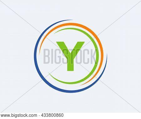 Y Letter Logo Design. Modern, Unique Creative Y Logo Design. Initial Y Letter Business Logo Template