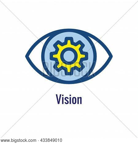 Mission Icon To Use With Core Values & Mission Statements
