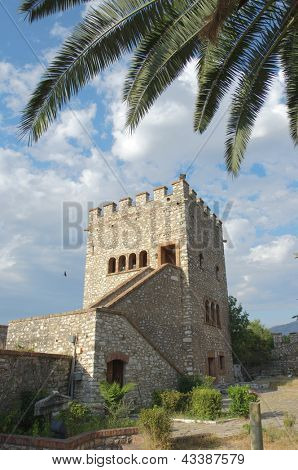 castle-museum of Butrint an ancient city in Albania, close to the greek border