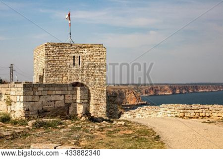 Cape Caliacra, Bulgaria - Sep 14, 2021. In The 4th Century Bc The Cape Was Inhabited By A Thracian T