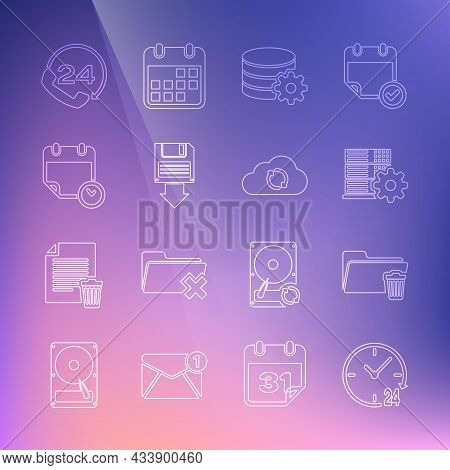 Set Line Clock 24 Hours, Delete Folder, Server Setting, Setting Database Server, Floppy Disk Backup,