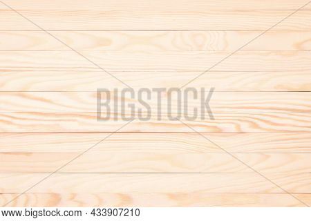 Abstract Wooden Texture. Light Wooden Planks. Wooden Table Background